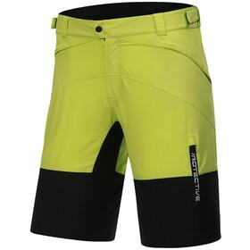 Protective P-Bounce Pantaloncini da ciclismo Uomo, giallo